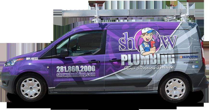 Show Plumbing Truck