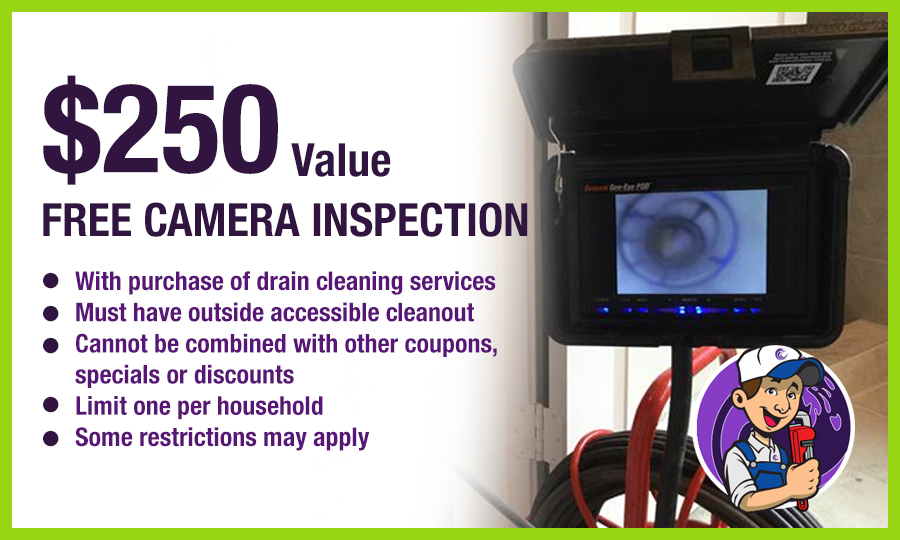 Camera Inspection Special Offer