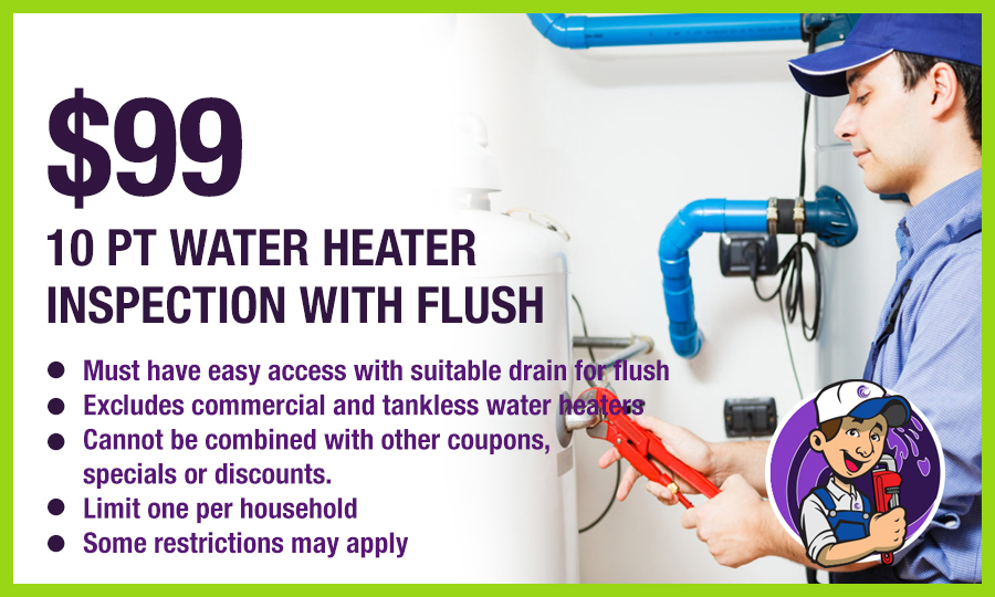 Water Heater Inspection Special Offer