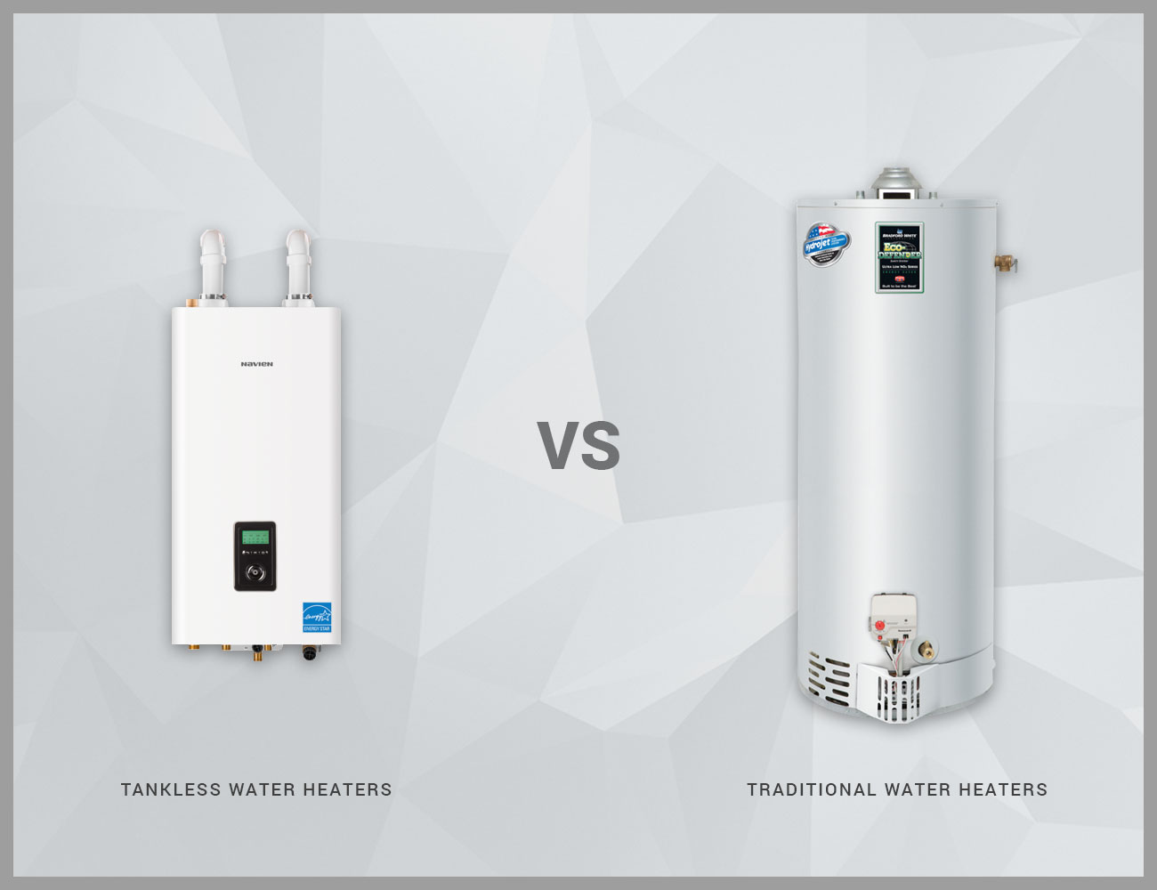 What's the Difference Between Tankless and Traditional Water Heaters?